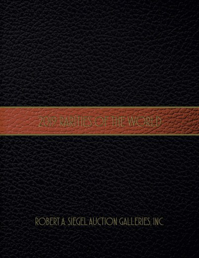 Catalog Cover Sale no. 1205 — Siegel Auction Galleries