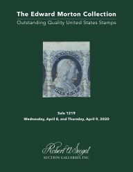 The Edward Morton Collection of Outstanding Quality U.S. Stamps