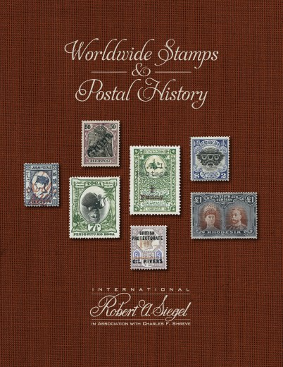 Catalog Cover Sale no. 1220 — Siegel Auction Galleries
