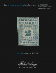 The Arthur S. Przybyl Collection of United States, Confederate States and Hawaii