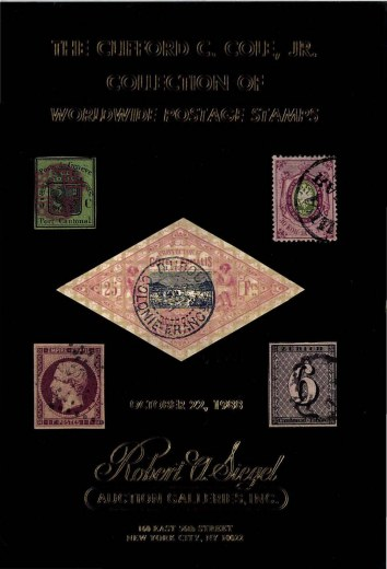 Catalog Cover Sale no. 699 — Siegel Auction Galleries