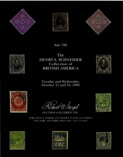 Catalog Cover Sale no. 780 — Siegel Auction Galleries