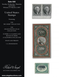 Sale Number 930, Lot Number 2660, 1919-20 Issues (Scott 537-550)$2.00 Carmine & Black (547), $2.00 Carmine & Black (547)