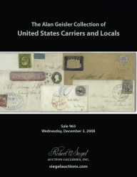 Catalog for Sale 965 — Siegel Auction Galleries