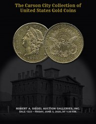 The Carson City Collection of U.S. Gold Coins