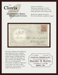 The Clovis Collection of Confederate States Illustrated Covers