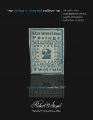 Preview: The Arthur S. Przybyl Collection: United States, Confederate States, Hawaii and European Classics
