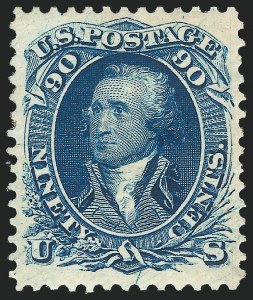 1875 Re-Issue of 1861-66 Issue, (Scott 102-111)