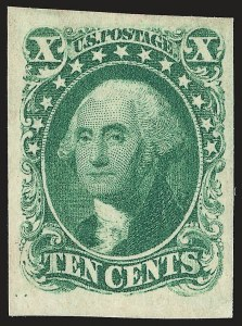 10-Cent 1855 Issue, (Scott 13-16)