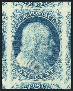 One-Cent 1851-56 Issue, (Scott 5-9)