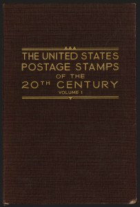 United States Postage Stamps of the 20th Century, Volume 1