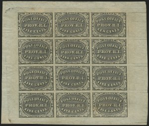 Providence R.I. Postmaster's Provisionals