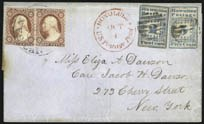 The unique 2c Hawaiian Missionary cover, sold by our firm in 2013 for a record $2,242,500