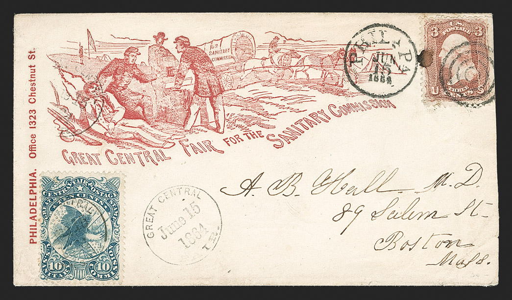 The Spectacular Civil War Sanitary Fair Cover