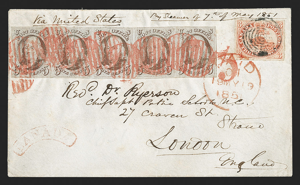 The Unique United States and Canada First Issue Cover