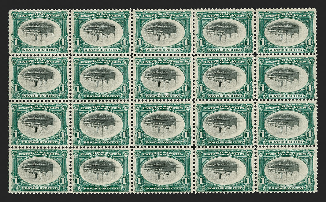 The Unique and Largest Known Multiple of Any Inverted Center Postage Stamp Error
